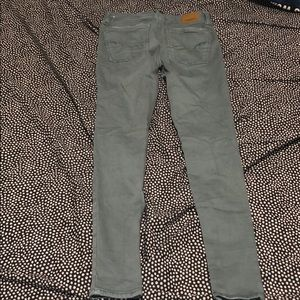 army green american eagle jeans